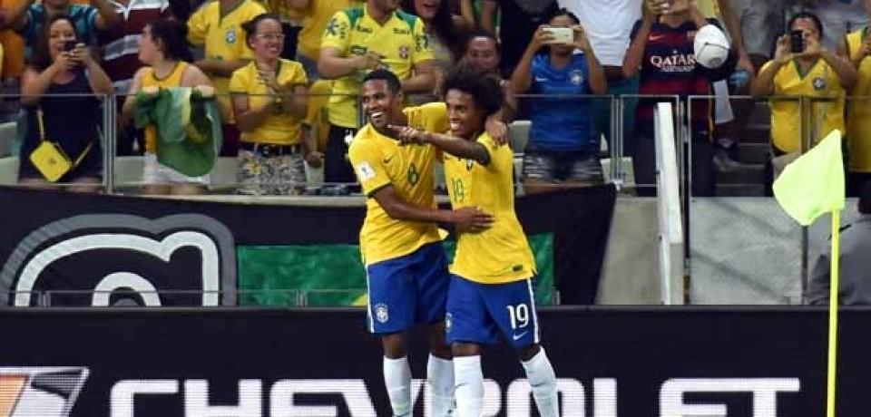 Brasil se reabilita nas Eliminatórias da Copa e derrota a Venezuela por 3 a 1