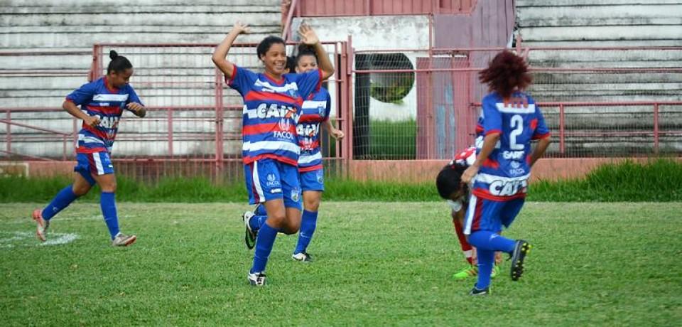 Com gol mais rápido da competicação, meninas do Vitória abrem vantagem sobre o Náutico na semifinal do Pernambucano