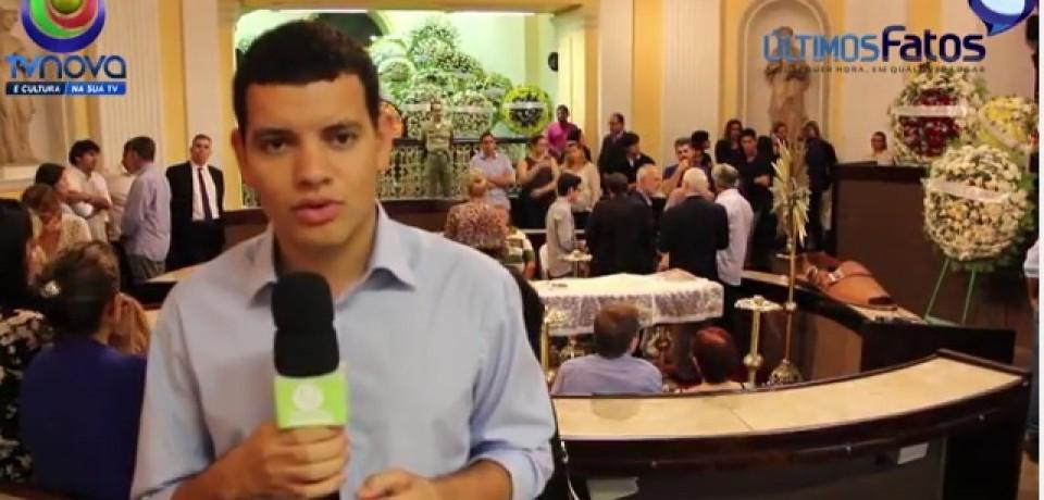 VÍDEO: Amigos e familiares prestam últimas homenagens a Ney Maranhão