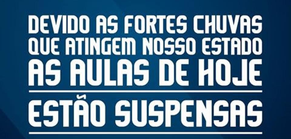 FACOL cancela aulas por conta das fortes chuvas no estado de Pernambuco