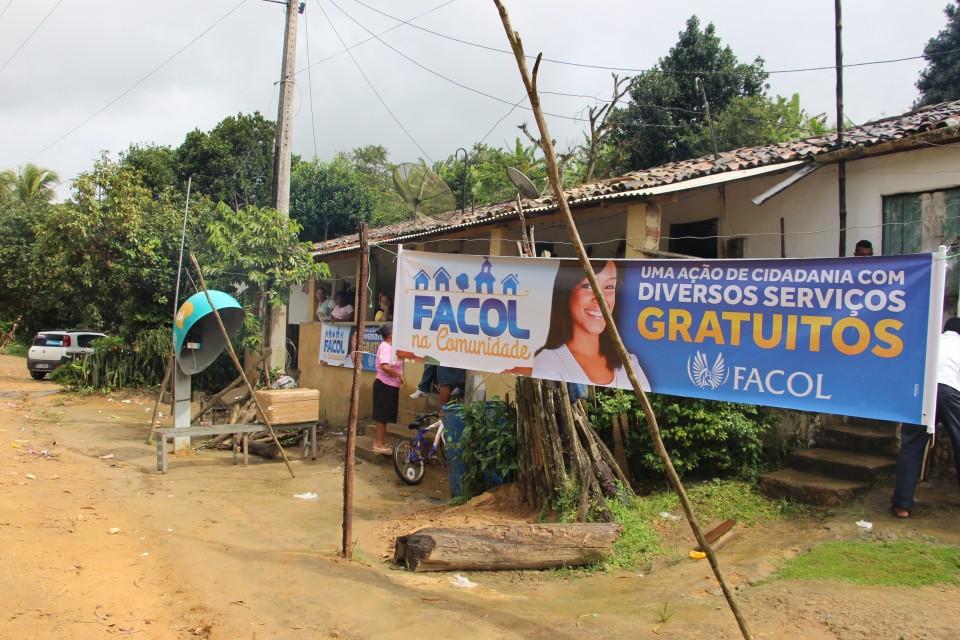 FACOL na comunidade realiza ação em engenhos da Vitória de Santo Antão