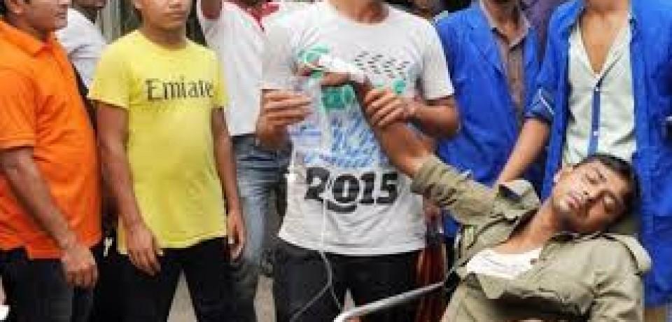 Duzentas pessoas são intoxicadas por vazamento de amoníaco em Bangladesh
