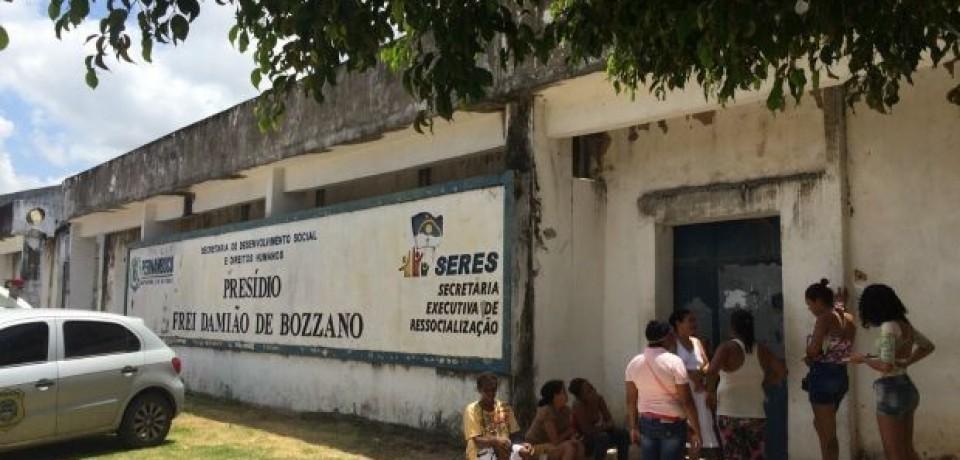 Briga entre detentos termina com tiroteio no Complexo do Curado