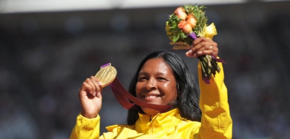 Ouro em Londres, Shirlene Coelho será a porta-bandeira do Brasil