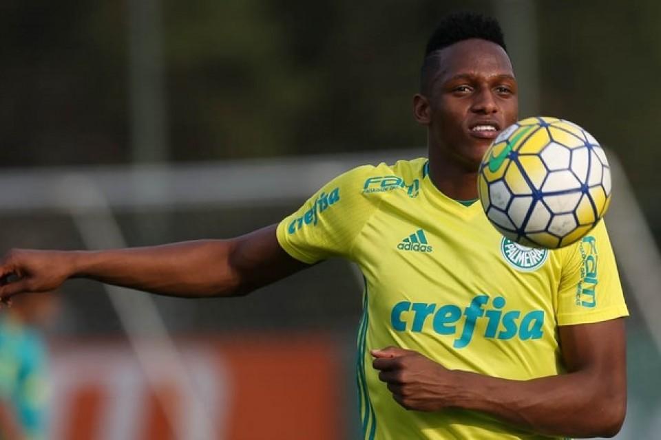 Jornal afirma que Manchester City sondou o Palmeiras sobre Mina