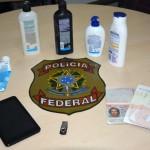 PF prende austríaco com cocaína diluída em condicionador para cabelo
