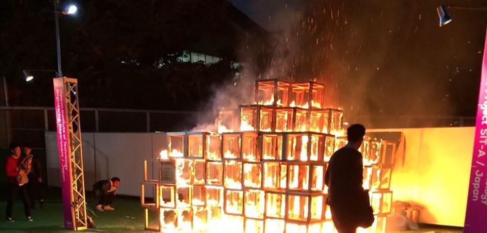 Criança morre queimada em festival de arte no Japão