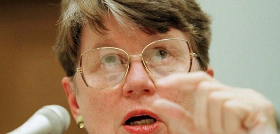 Morre ex-secretária de Justiça americana Janet Reno